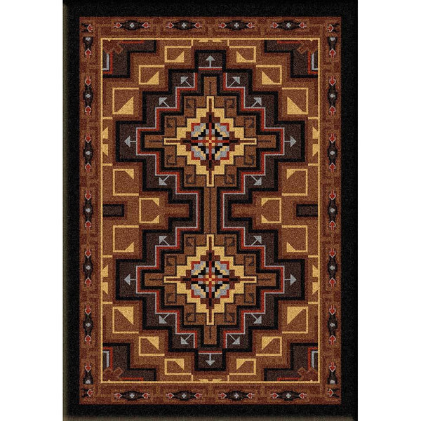Look Inside - Earth-CabinRugs Southwestern Rugs Wildlife Rugs Lodge Rugs Aztec RugsSouthwest Rugs