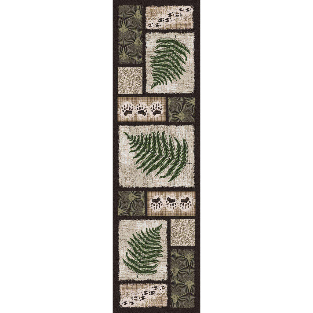 Nature Slices - Creekside-CabinRugs Southwestern Rugs Wildlife Rugs Lodge Rugs Aztec RugsSouthwest Rugs