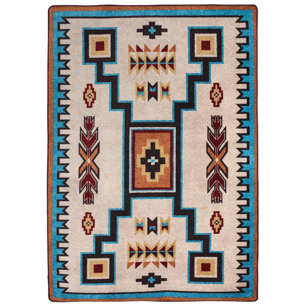 Old Timer - Rust-CabinRugs Southwestern Rugs Wildlife Rugs Lodge Rugs Aztec RugsSouthwest Rugs