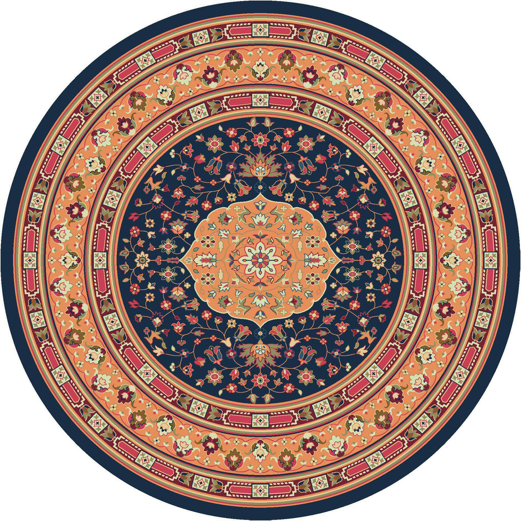 Persian Palace - Bloom-CabinRugs Southwestern Rugs Wildlife Rugs Lodge Rugs Aztec RugsSouthwest Rugs