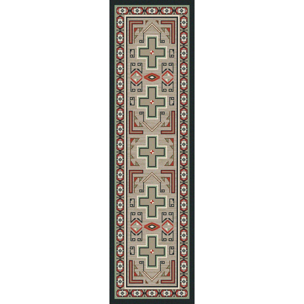 Rain Dance-CabinRugs Southwestern Rugs Wildlife Rugs Lodge Rugs Aztec RugsSouthwest Rugs