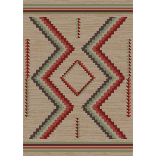 Sand Glass - Fall-CabinRugs Southwestern Rugs Wildlife Rugs Lodge Rugs Aztec RugsSouthwest Rugs