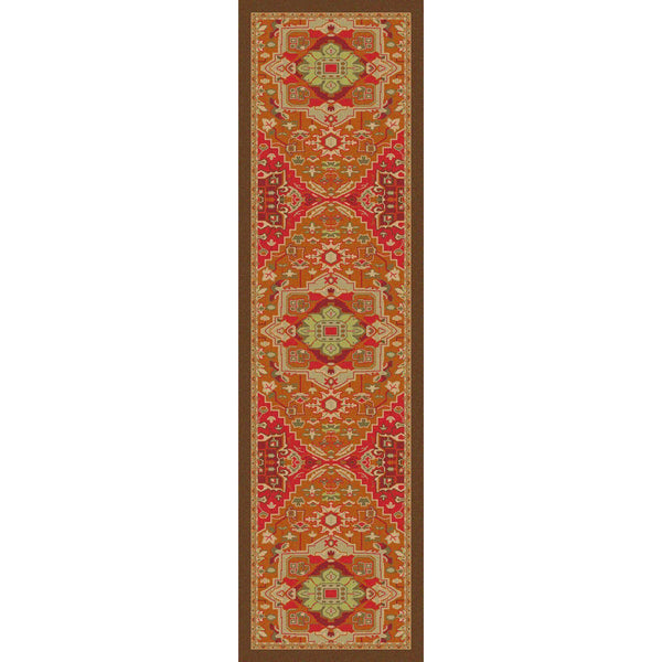 Silk Road - Glow-CabinRugs Southwestern Rugs Wildlife Rugs Lodge Rugs Aztec RugsSouthwest Rugs