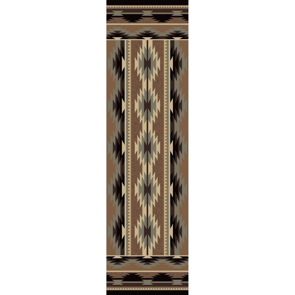Southwest Medicine - Light-CabinRugs Southwestern Rugs Wildlife Rugs Lodge Rugs Aztec RugsSouthwest Rugs
