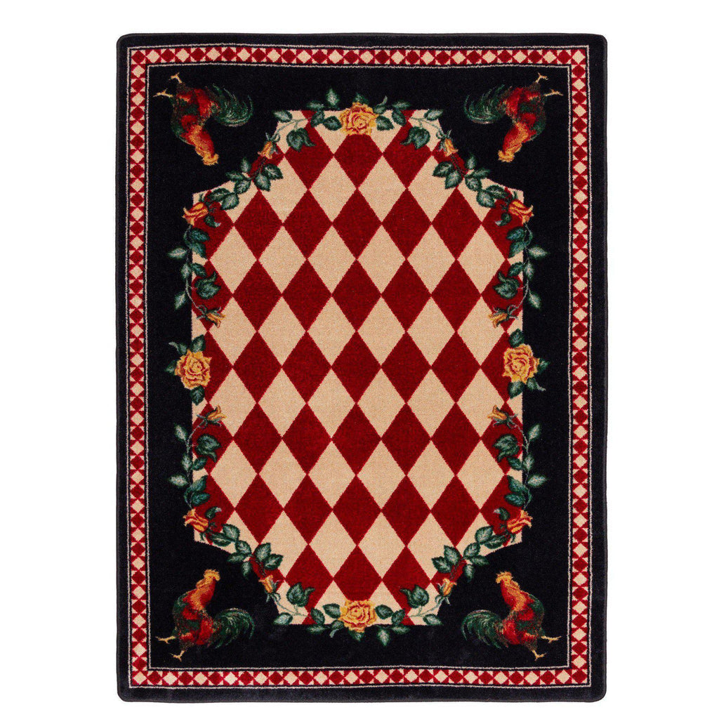 Southwestern Farm - Natural-CabinRugs Southwestern Rugs Wildlife Rugs Lodge Rugs Aztec RugsSouthwest Rugs