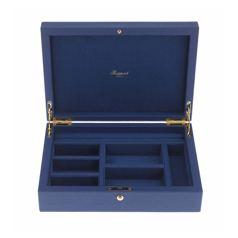 Rapport-Ladies-Diana Large Jewellery Box-Blue