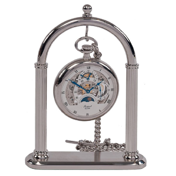 Rapport-Watch Accessories-Pocket Watch Stand-Chrome Plated