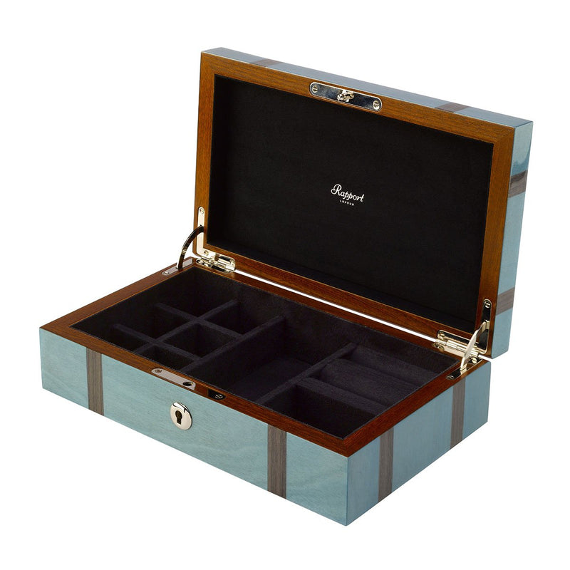Rapport-Ladies-Jewellery Box with Stripes-