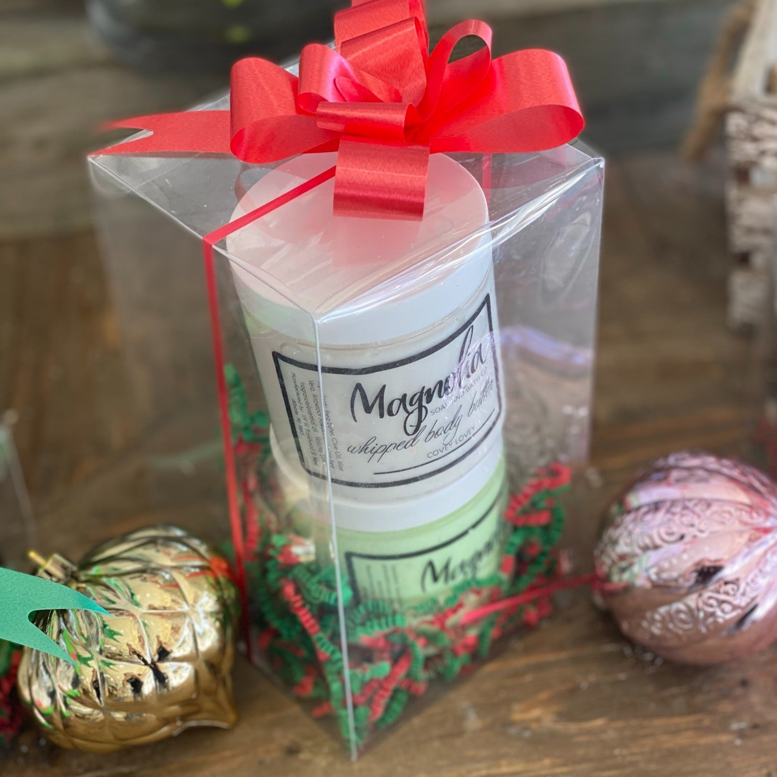 SUGAR SCRUB & BODY BUTTER GIFT SET