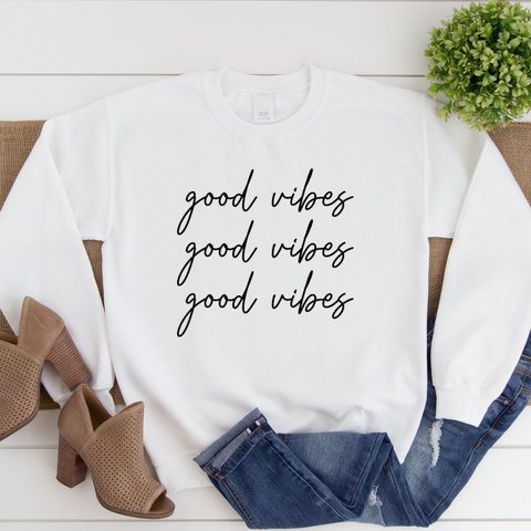 good vibes - sweater