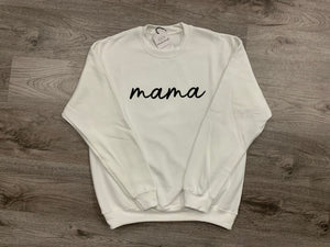 mama scripted - Crew Sweater