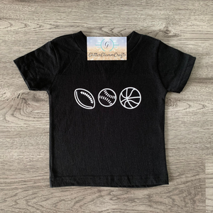 Sports Fan - Toddler Tee