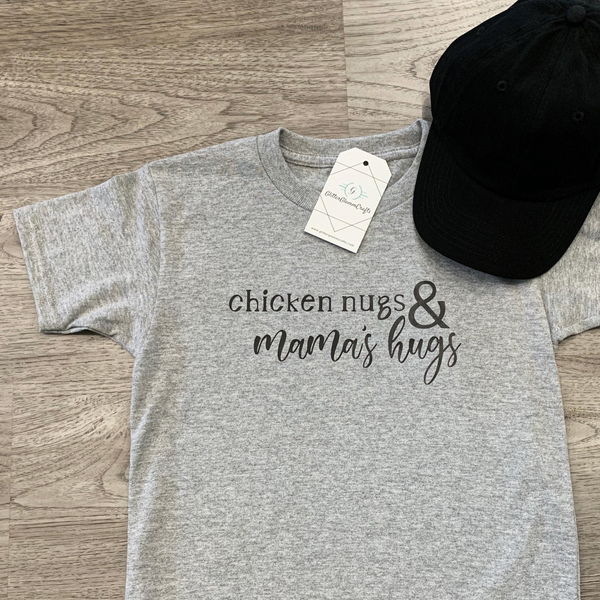 Chicken Nugs & Mamas Hugs - Toddler Tee