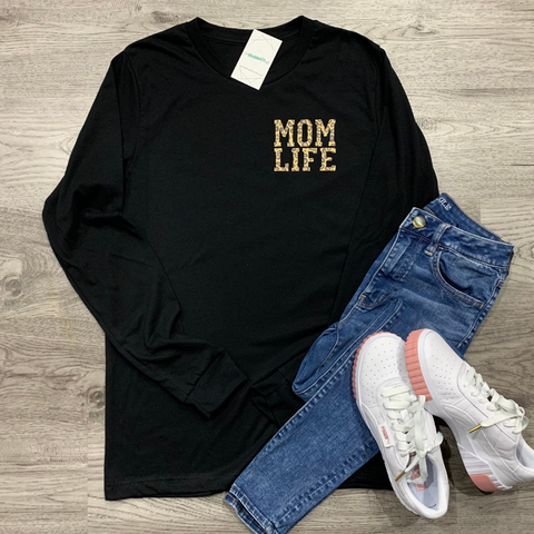 MOM LIFE  - Long Sleeve Tee