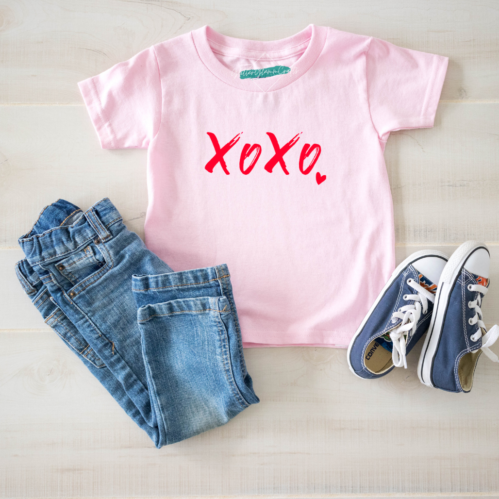Toddler XOXO Tee