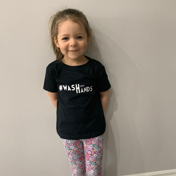 Wash Your Hands - Toddler Tee