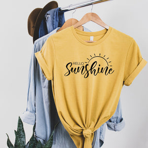 Hello Sunshine  - Tee