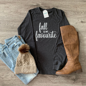 Fall is my favourite  - Long Sleeve Tee