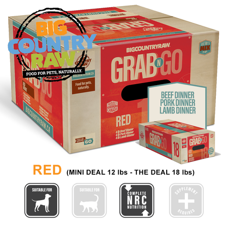 BCR Grab N Go RED