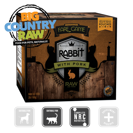 BCR Fair Game RABBIT with PORK