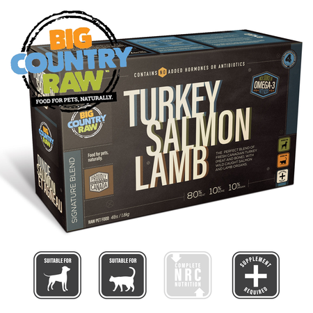 BCR TURKEY SALMON LAMB Blend