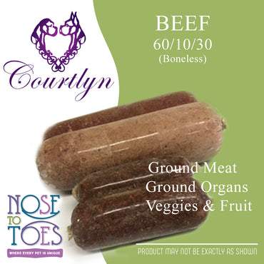 CCD Beef with Organ, Veggies and Fruit (60/10/30)