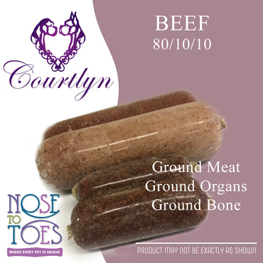 CCD Beef with Bone and Organs (80/10/10)