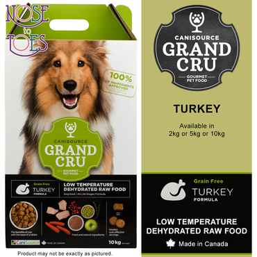 Grand CRU Turkey Dog Food