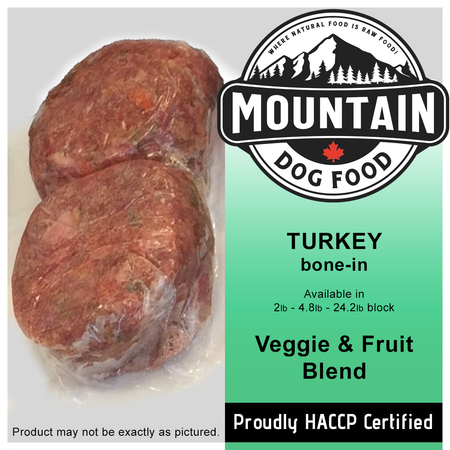 MDF TURKEY Veggie and Fruit Blend