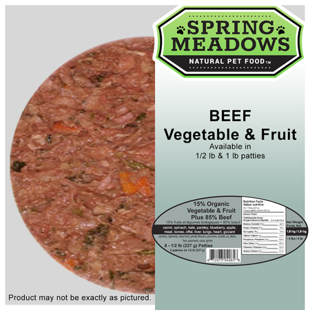 Spring Meadows BEEF with Organic Veggies & Fruit