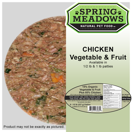 Spring Meadows CHICKEN with Organic Veggies & Fruit