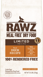 RAWZ LID Duck Recipe for Dogs