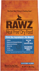 RAWZ Salmon, Dehydrated Chicken & Whitefish Recipe for Dogs