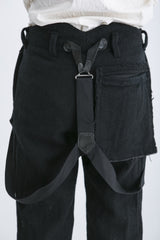 elena dawson pocket suspender trousers