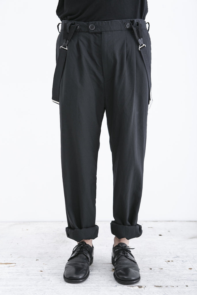 elena dawson baggy suspender trousers
