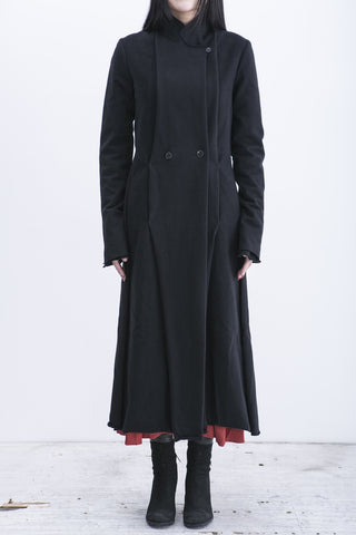 m.a+ double breasted long coat