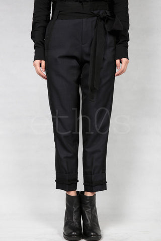 a.f. vandevorst cropped trousers