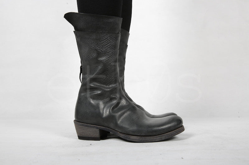 m.a+ back zipped tall boot
