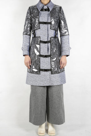 anrealage coat with noise harness