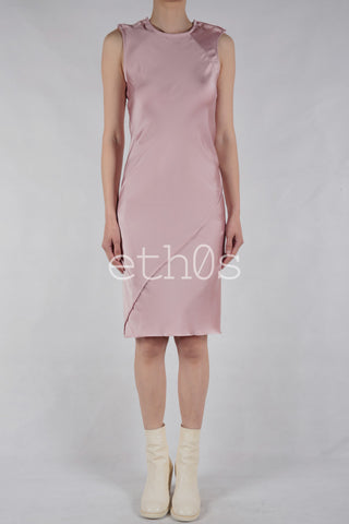 a.f. vandevorst asymmetric seam dress