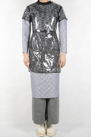 anrealage dress with noise harness