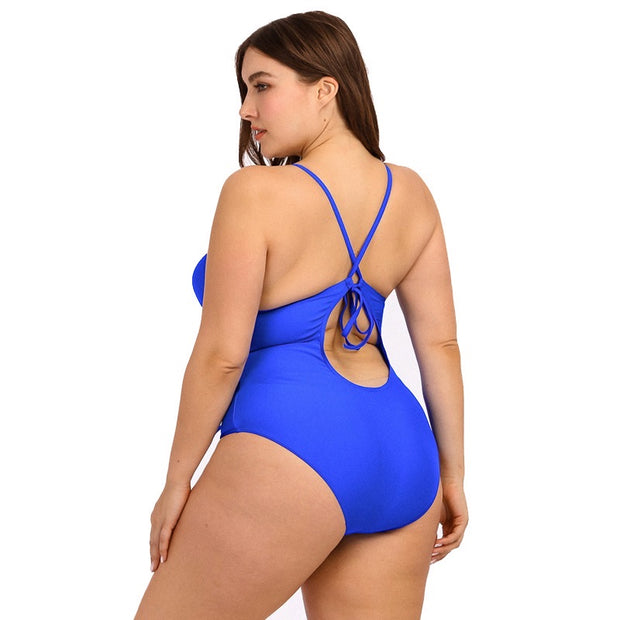 Plus Royal Swimsuit