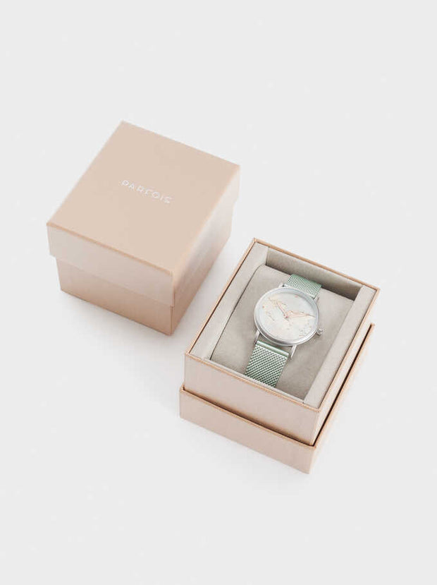 Mint Map Parfois Watch