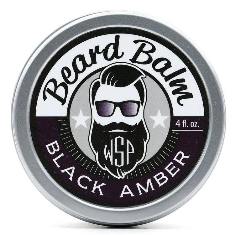 4 oz Beard Balm - Black Amber Vanille