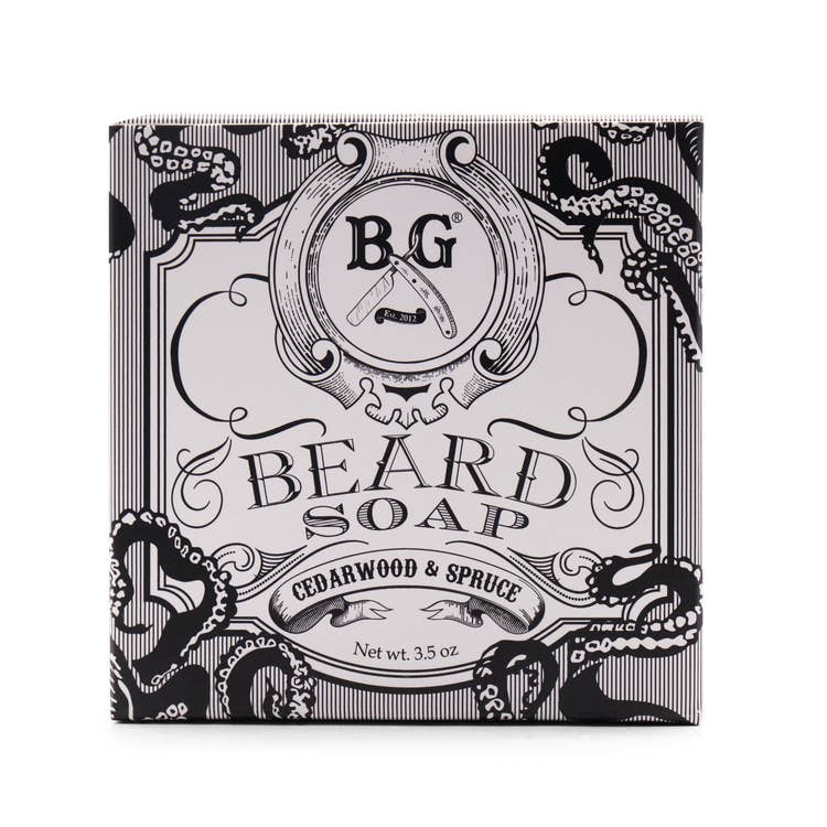 3.5 oz Beard Soap