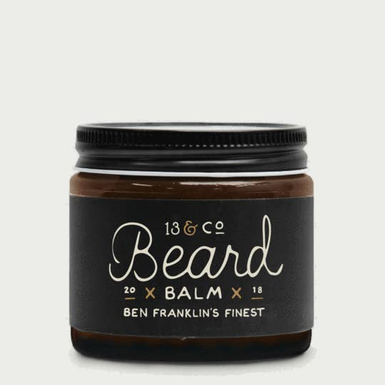 2 oz Ben Franklin's Finest Beard Balm