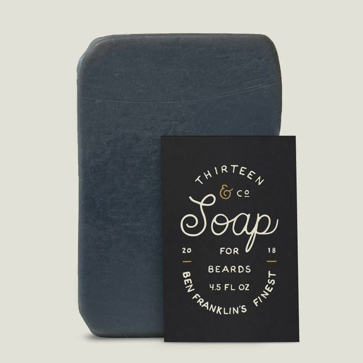 4.5 oz Ben Franklin's Finest Beard Soap