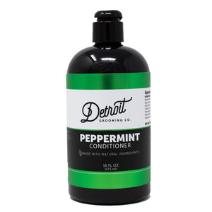 16 oz Detroit Grooming Men's Conditioner - Peppermint