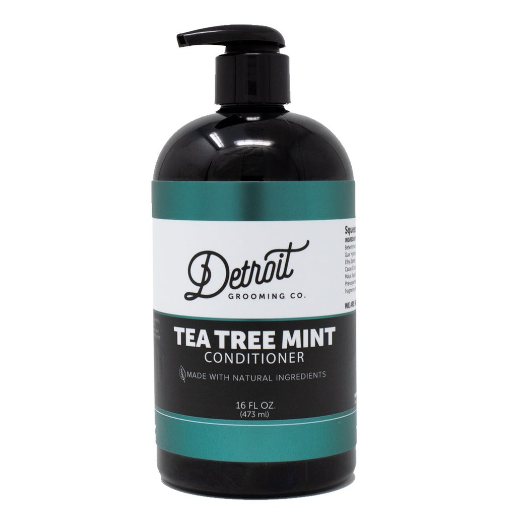 16 oz Detroit Grooming Men's Conditioner - Tea Tree Mint