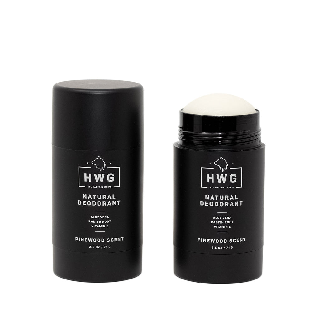 2.5 oz Natural Pinewood Deodorant